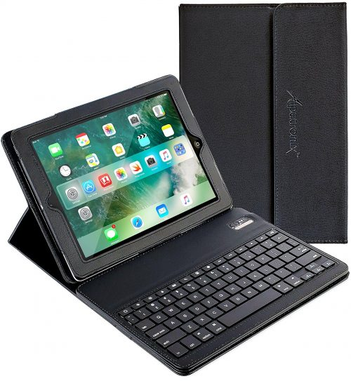 Alpatronix iPad Keyboard + Leather Case KX100 - iPad Keyboards