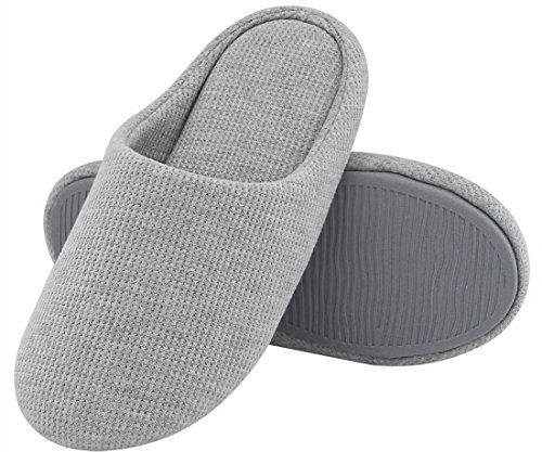 Women & Comfort Knitted Cotton Slippers Washable