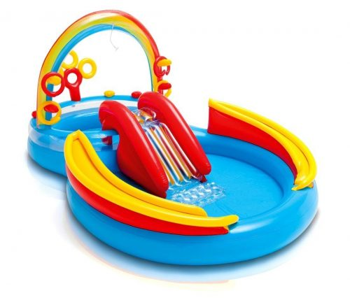 Rainbow Ring Play Center that is Inflatable by Intex