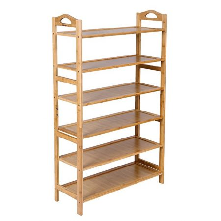 SONGMICS Bamboo Shoe Rack.