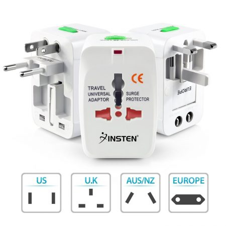 Insten Universal Travel Charger Adapter