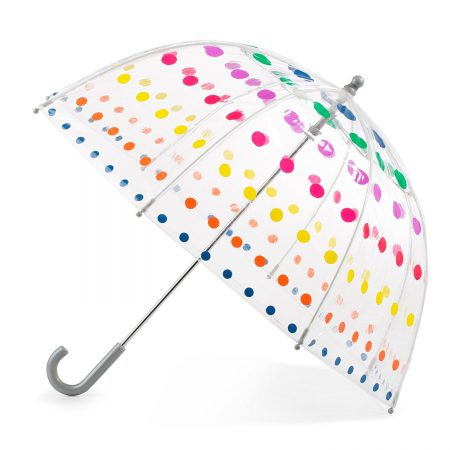 Totes Kids' Clear Bubble Umbrella