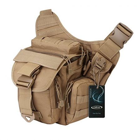 G4Free Tactical Messenger Sling Pack