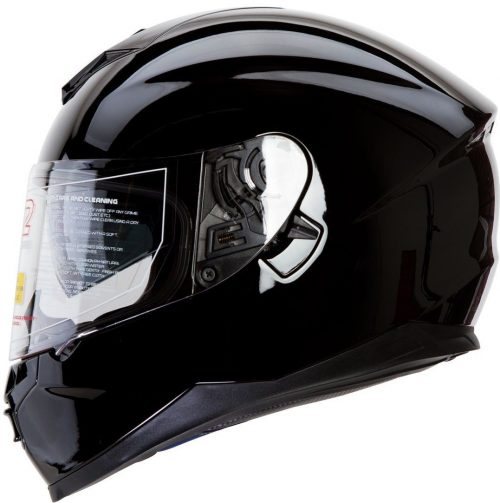 IV2 Falcon 967 – The Gloss Black Bluetooth and Compatible High-Performance Helmet