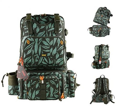 Kingdomfishing Multifunctional Fishing Backpack - Best of Fishing Backpacks
