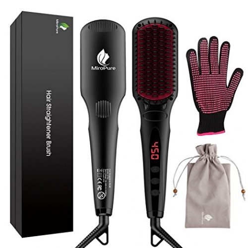 MiroPure Ionic Hair Straightener Brush