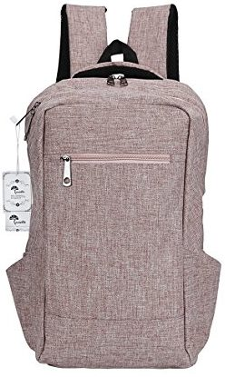 Winblo 15.6 Inch Laptop Backpack – Mauve Pink