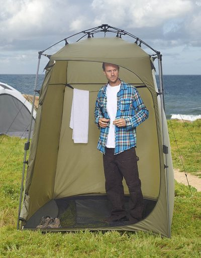 Lightspeed Outdoors Xtra Wide Quick Set Up Privacy Tent, Toilet, Camp Shower