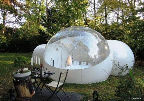 Relax Now (TM) 2 Tunnel Transparent Bubble Tent