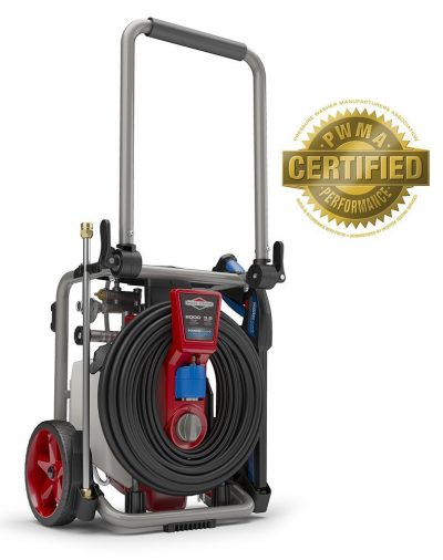 Briggs & Stratton 20667 Electric Pressure Washer 2000 PSI 3.5 GPM POWERflow+ Technology, 7-in-1 Nozzle