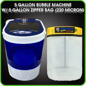 Bubble Bag Machine 5 Gallon Small Mini Compact Washer
