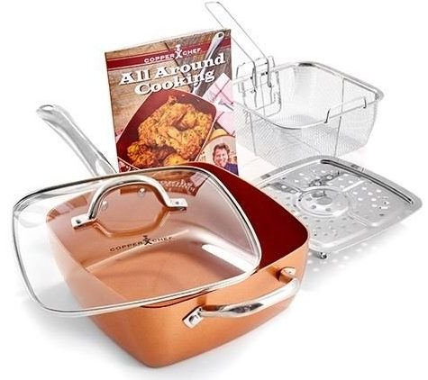 Copper Chef 5 Piece Cookware Set