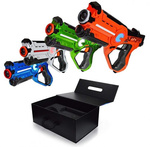 Family Games Laser Tag Night 4 Pack Set
