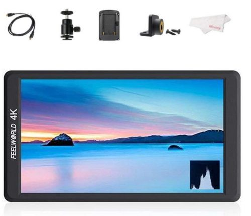 """Feelworld F570 5.7"""" IPS Full HD 1920x1080 On Camera Monitor Support 4K HDMI Input/Output"""