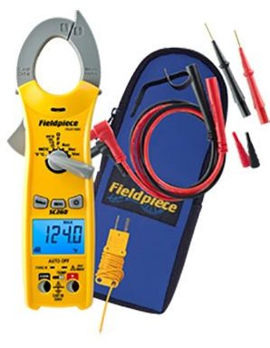Fieldpiece SC260 Compact Clamp Multimeter with True RMS-Clamp Meters