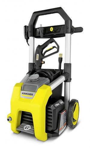 Karcher K1700 Electric Power Pressure Washer 1700 PSI TruPressure, 3-Year Warranty