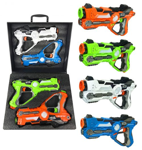 Multiplayer Extreme Infrared Laser Tag Indoor Outdoor Game Set