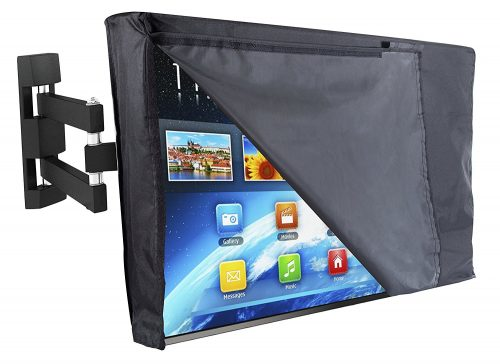"""Outdoor TV Cover 55"""" - NOW WITH FRONT FLAP"""