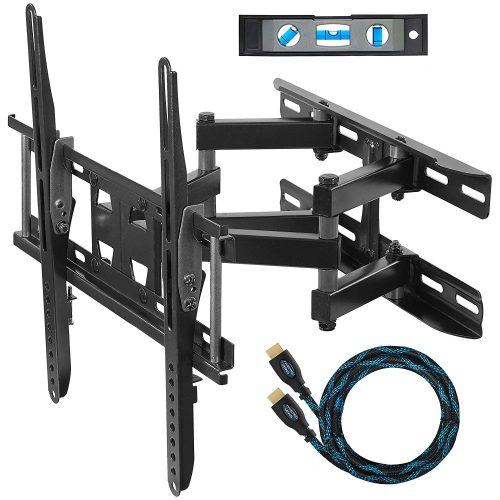 Cheetah Mounts APDAM3B Dual Articulating Arm TV Wall