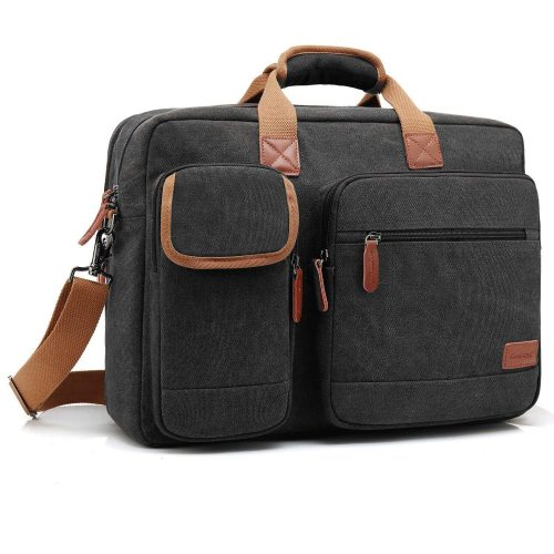CoolBELL 17.3 Inch Laptop Messenger Bag Briefcase Protective Shoulder Bag Multi-functional Business Hand Bag