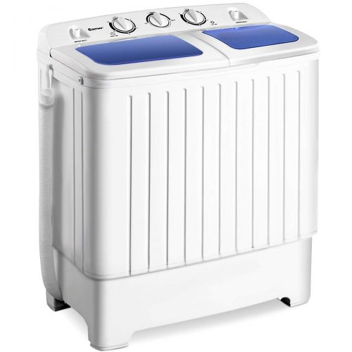 Giantex Portable Mini Compact Twin Tub Washing Machine-Portable Washing Machines
