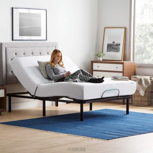 LUCID L100 Adjustable Bed Base-Adjustable Beds