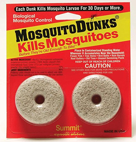 Summit...responsible solutions Mosquito Dunks 102-12 Mosquito Killer
