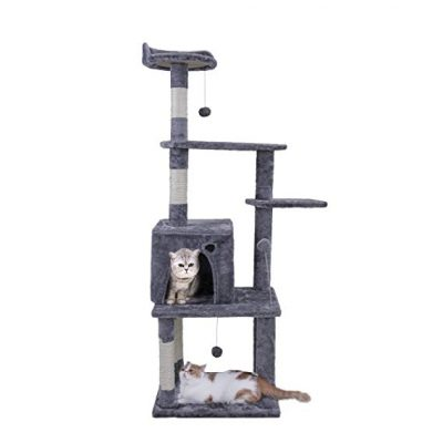 "10. PAWZ Road 54.7"" Cat Tree:"