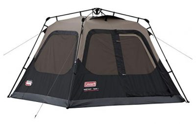 10. Coleman 4-Person Instant Cabin Tent: