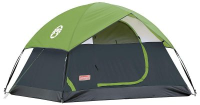 1. Sundome Camping Green Tents from Coleman: