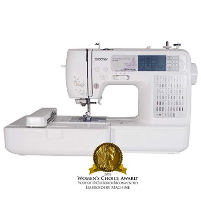 1. Brother SE400 Computerized Sewing Embroidery Machine:
