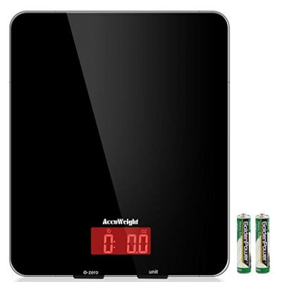 8. AccuWeight Digital Kitchen scale Multifunction Meat Food Scale:
