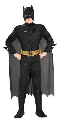 4. Batman Dark Knight Rises Kids Deluxe Costume from Rubie: