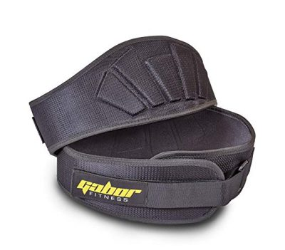 8.  Gabor Fitness Contoured Weight Lifting Belt: