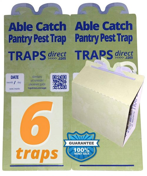 Able Catch 6 Pantry Moth Traps