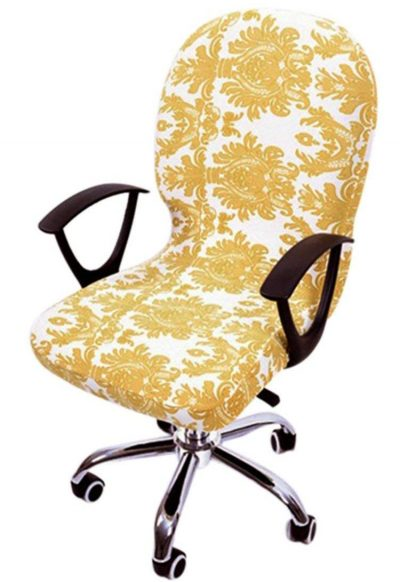 Freahap Chair Cover Stretchable Removable Computer Office Swivel Chair Cover