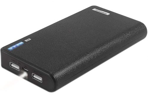 LQM 20000mAh Dual USB External Battery Backup Power Bank for Apple iPhone 6