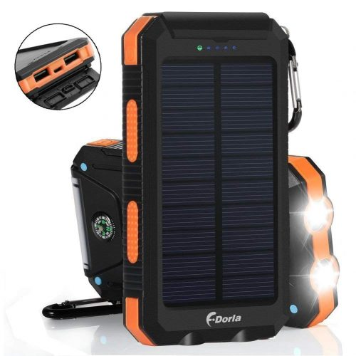 Solar Charger 20000mAh Power Bank-20000mah power banks