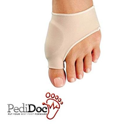 10. Bunion Corrector and Bunion Relief Sleeve along with Gel Pad Cushion: