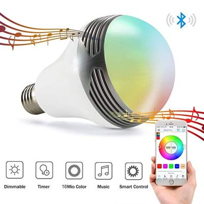 Magic Hue Bluetooth Speaker Bulb with Speaker: