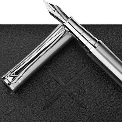 Scribe Sword Fountain Pen with Ink - Calligraphy Pens:
