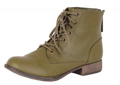 Breckelle's Georgia-43 Combat Boots for Women: