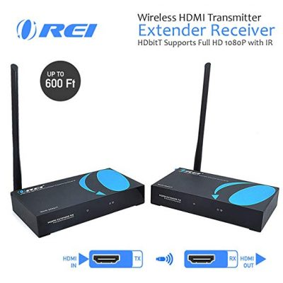 Wireless HDMI Transmitter Extender Receiver from OREI: