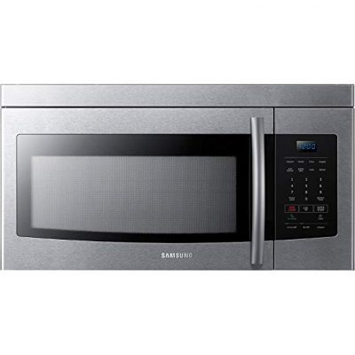 Samsung Stainless Steel Over-The-Range Microwave:
