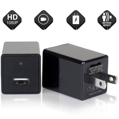 2020 Hidden Spy Camera Phone Charger Adapter by RC-G: