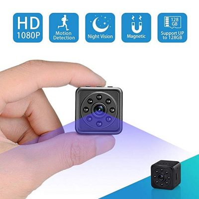 3. Spy Hidden Camera-SOOSPY 1080P Portable Mini Security Camera by SOOSPY: