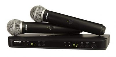 Shure BLX288/PG58 Wireless Vocal Combo: