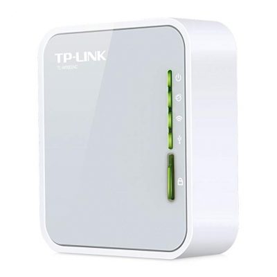 TP-Link AC750 Wireless Wi-Fi Travel Router (TL-WR902AC):