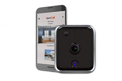 ISEEBELL WF Wireless, Wi-Fi Enabled Video Doorbell (WF100):