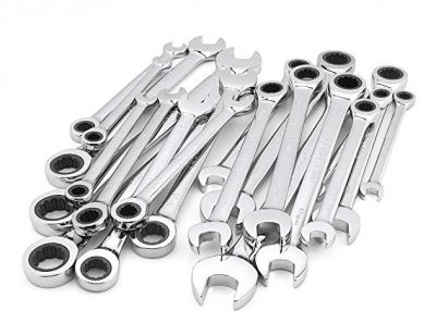 Craftsman 20 Piece Ratcheting Wrench Set, Inch / Metric: